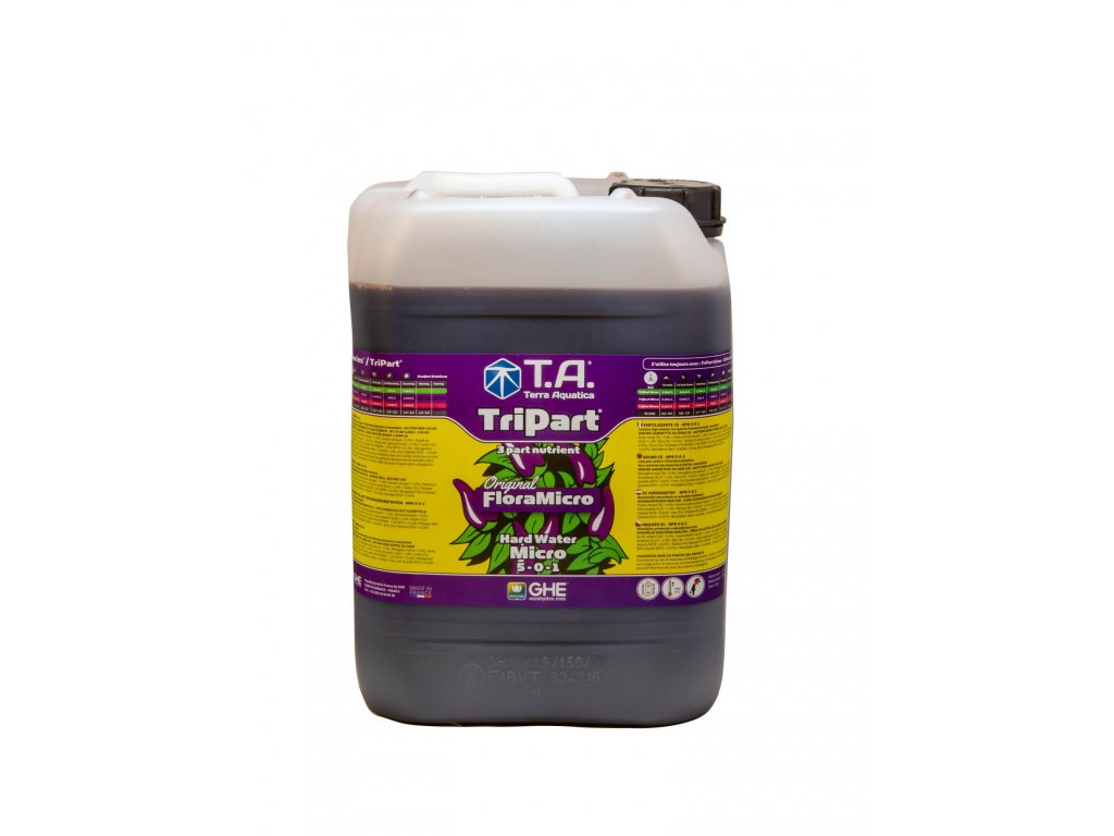 GHE FloraMicro Hartes Wasser (GHE FloraMicro Hard Water 10l)