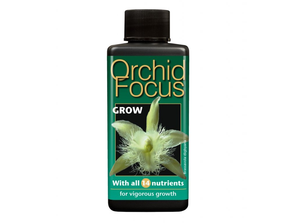 Wachstumstechnologie Orchideenfokus Wachsen (Growth Technology Orchid Focus Grow 100ml)