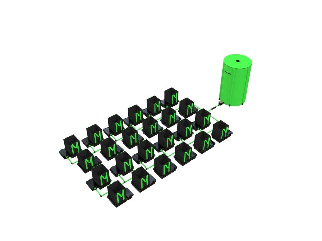 24 Pot 10/16/22 / 30LTR EasyFeed ™ System (Version 24 Pot 10LTR EasyFeed)