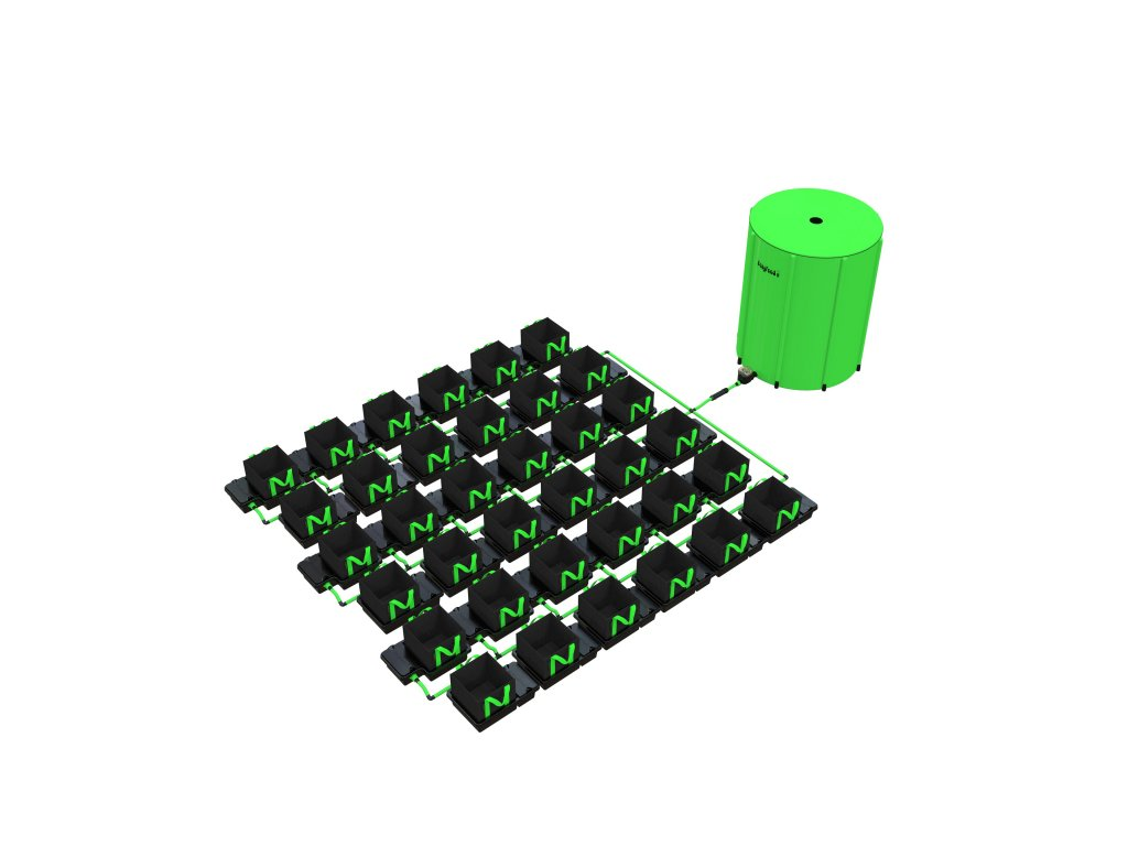 36 Pot 10/16/22 / 30LTR EasyFeed ™ System (Version 36 Pot 10LTR EasyFeed)