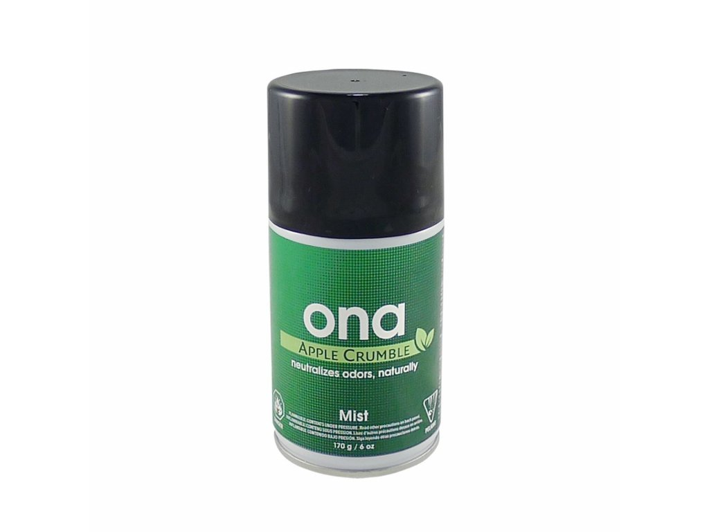6075 1 ona mist aerosol 170g apple crumble