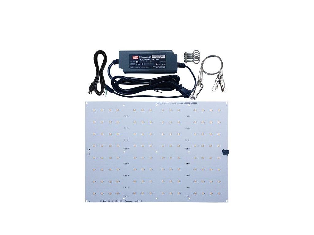 65w quantum board LED lamp samsung lm301b2222