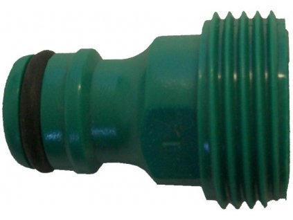 10374 1 aquaking green male quick coupling on 1 2 hose 1 2 male thread