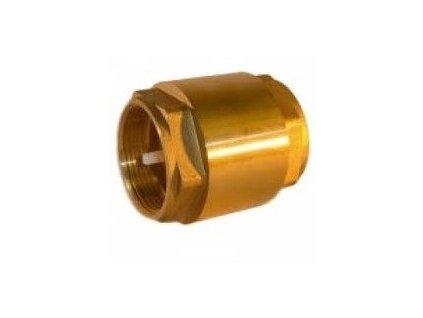 4485 zpetny ventil mosazny k a pomp prumer 25mm 16atm