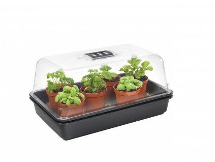 11112 1 greenhouse 38x24x18cm hard plastic