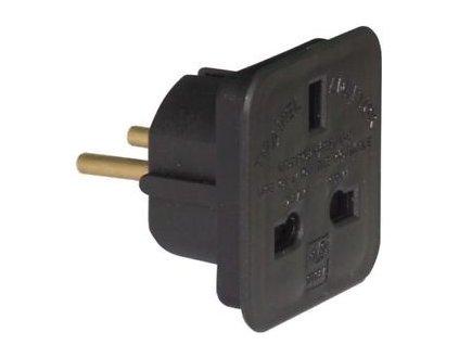 17009 1 adapter uk eu plug 10a