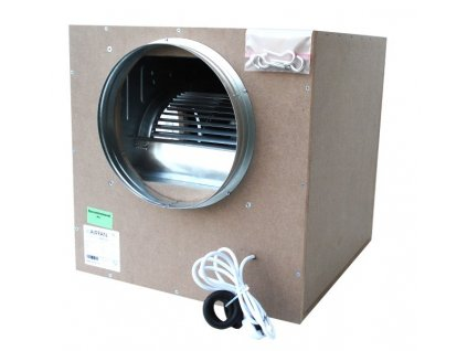 14672 airfan iso box 1000 m3 h soundproof fan including flanges and hooks for mounting