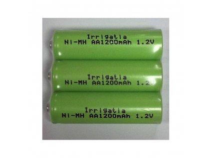 18473 irrigatia spare rechargeable batteries 3pcs