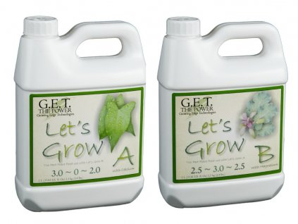 GET Lets Grow A + B. (GET Lets grow A+B 1l)