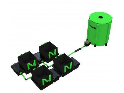 4 Pot 10/16/22 / 30LTR EasyFeed ™ System (Version 4 Pot 10LTR EasyFeed)
