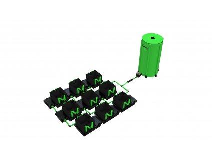 9 Pot 10/16/22 / 30LTR EasyFeed ™ System (Version 9 Pot 10LTR EasyFeed)