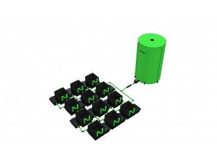 12 Pot 10/16/22 / 30LTR EasyFeed ™ System (Version 12 Pot 10LTR EasyFeed)