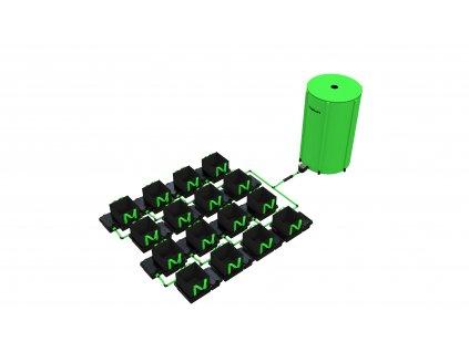 16 Pot 10/16/22 / 30LTR EasyFeed ™ System (Version 16 Pot 10LTR EasyFeed)