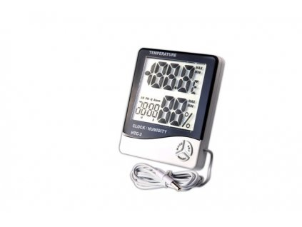 7743 3 digital thermo hygro meter with probe