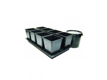 9687 octogrow passive hydroponic system for 8 plants