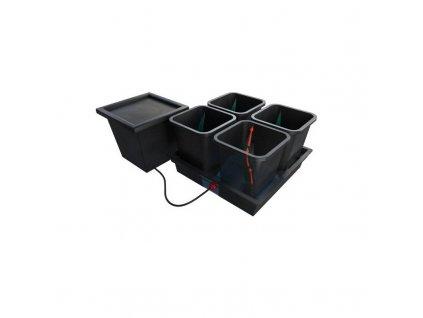 9690 quadgrow passive hydroponic system for 4 plants