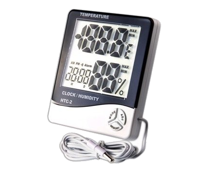 Thermometers, hygrometers