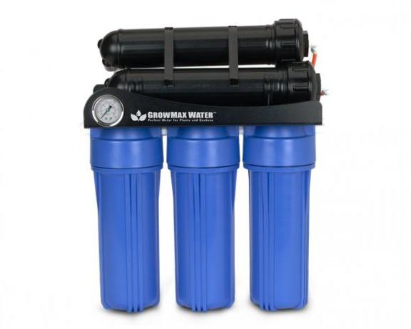 Reverse osmosis, filtration, deionization
