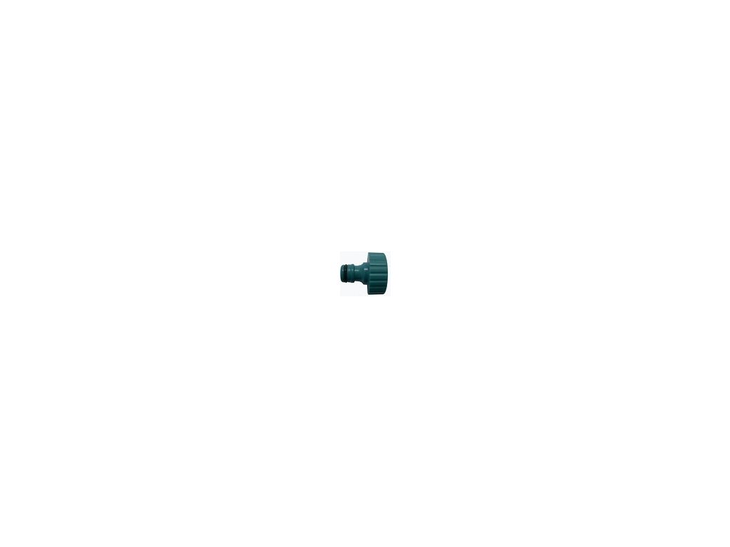 """Aquaking green male quick connector,  3/4  """"female thread"""