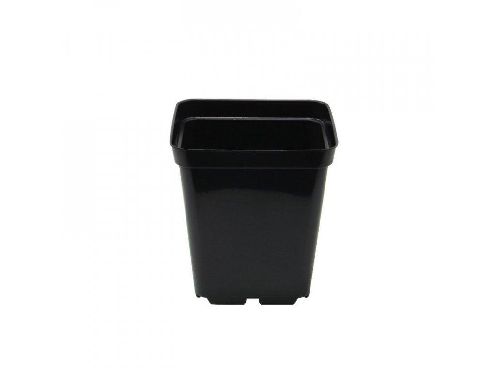 Plastic flowerpot 10x10x11 - 1L