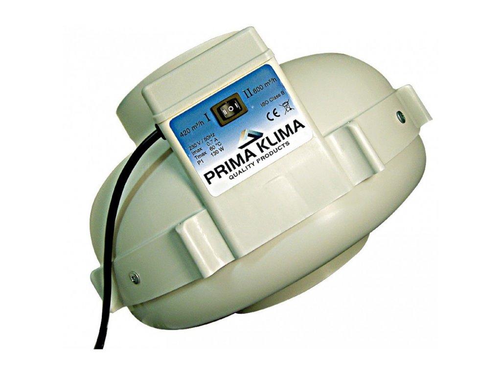 Fan Prima Klima PK160-2, 2 speeds, 420/800m3/h