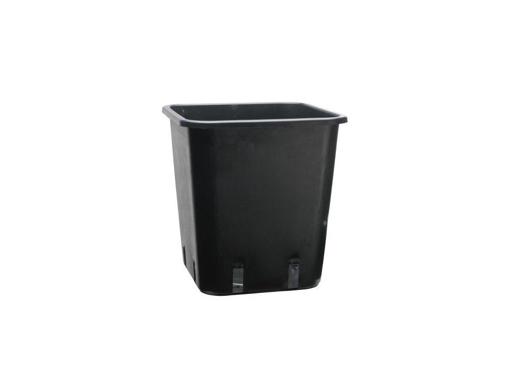 Plastic flowerpot 11x11x19 - 1.65l