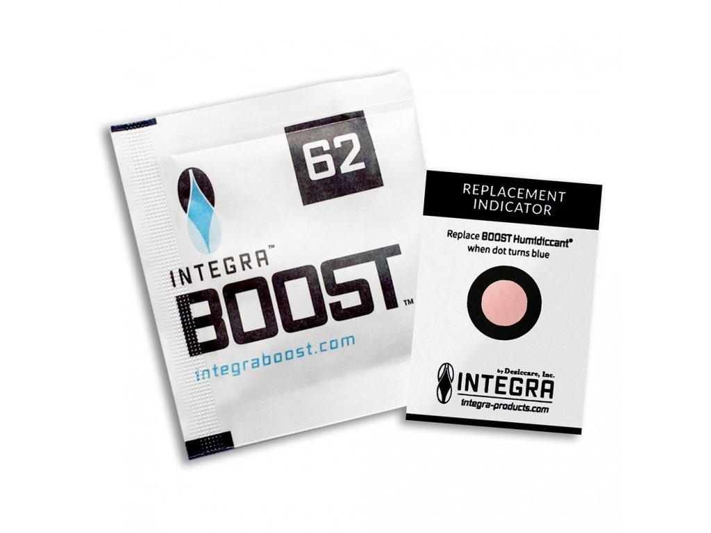 Integra Boost 8g, 62% humidity, 1k