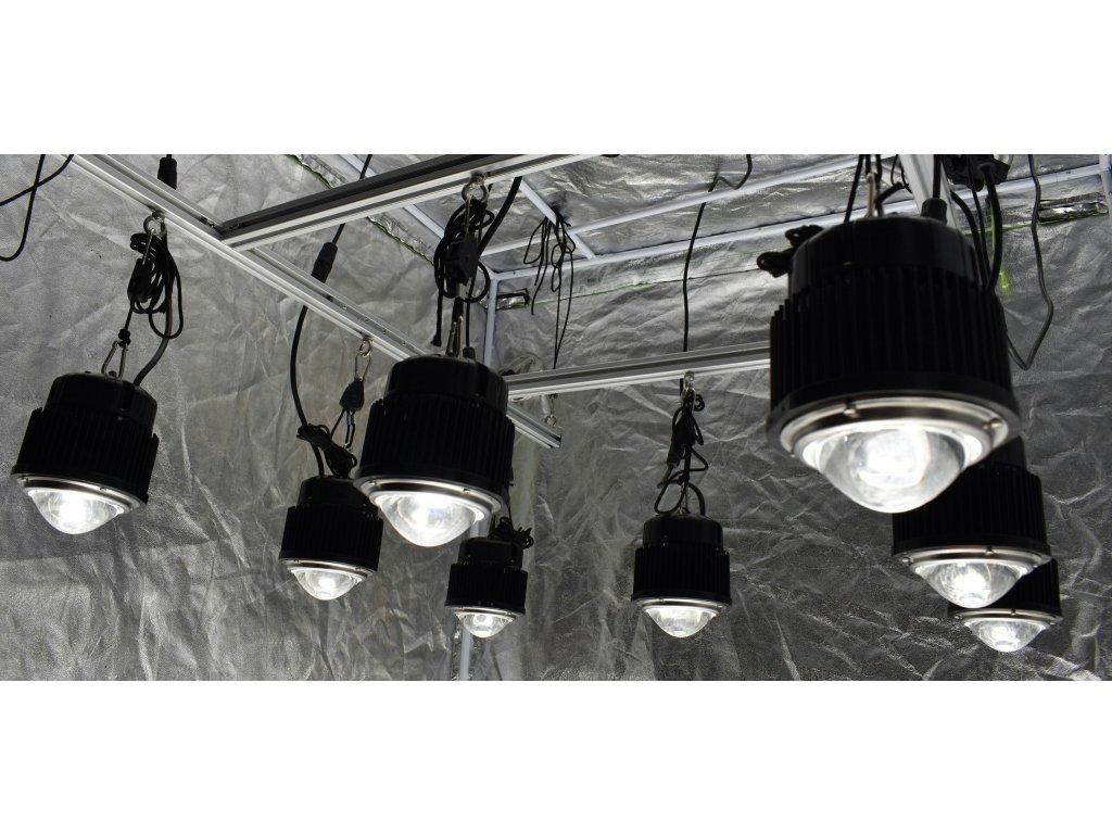 Optic LED Grow Lights 4x4 (1,2 x 1,2 m) Optic Hang Kit (430w) - LedGrowShop
