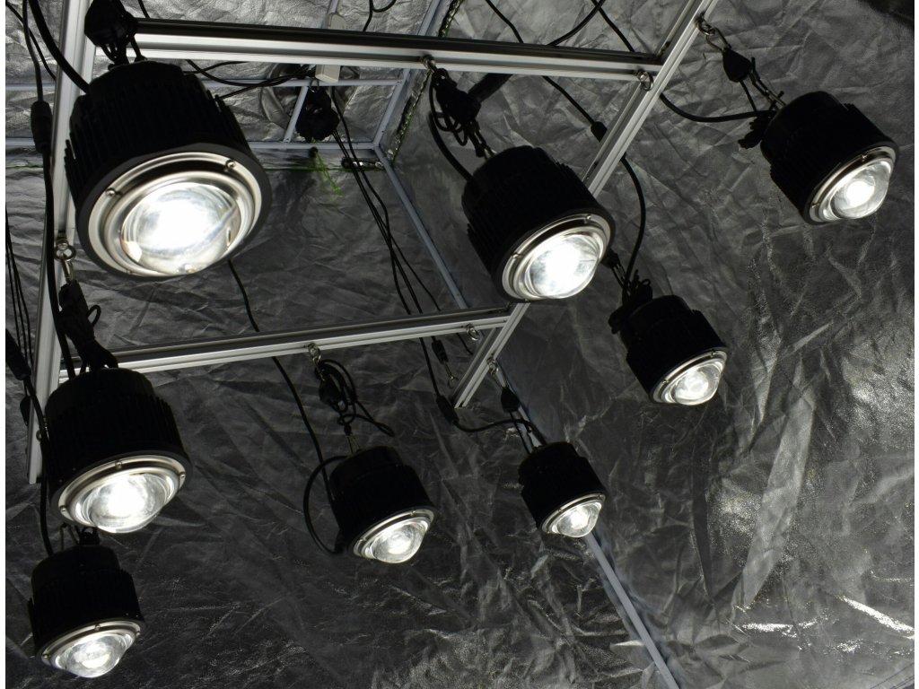 Optic LED Grow Lights 4x4 (1,2 x 1,2 m) Optic Hang Kit (430w)