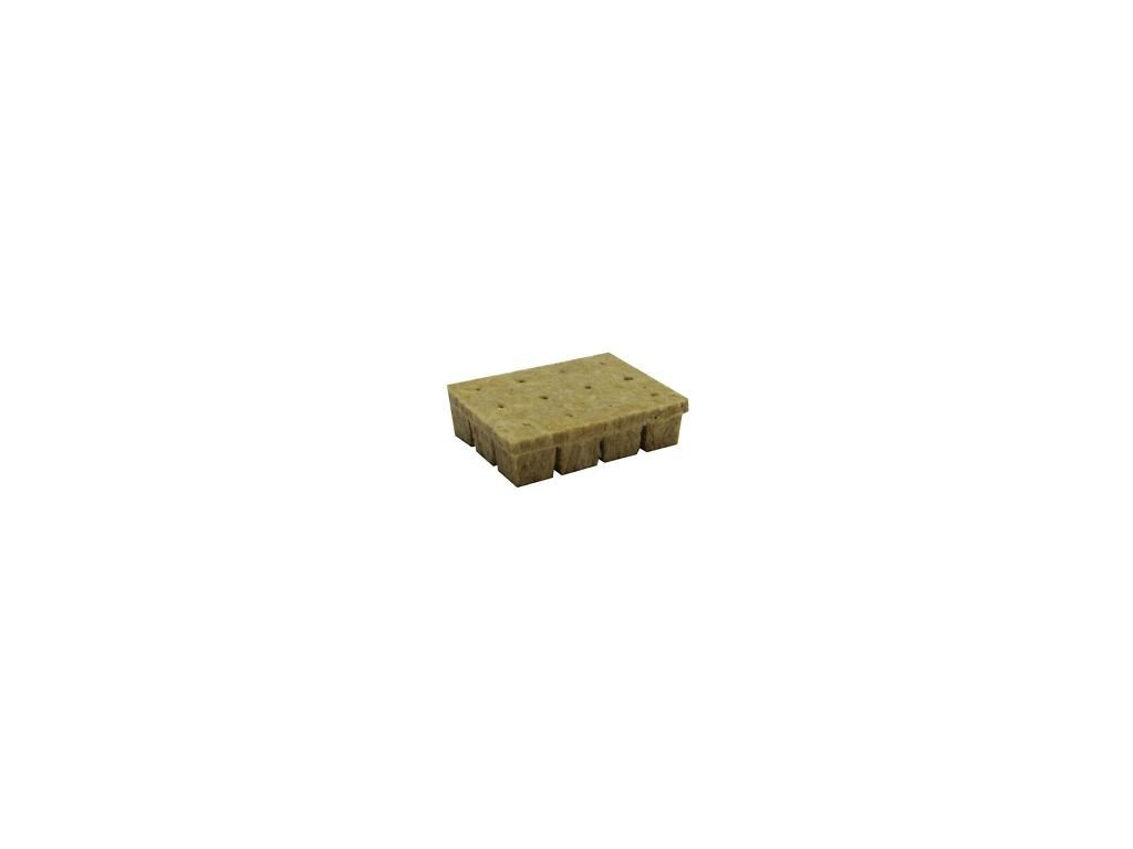 Grodan planting cube 36x36x40mm with a hole