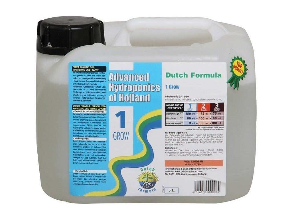 AH Dutch Formula Grow, 5L