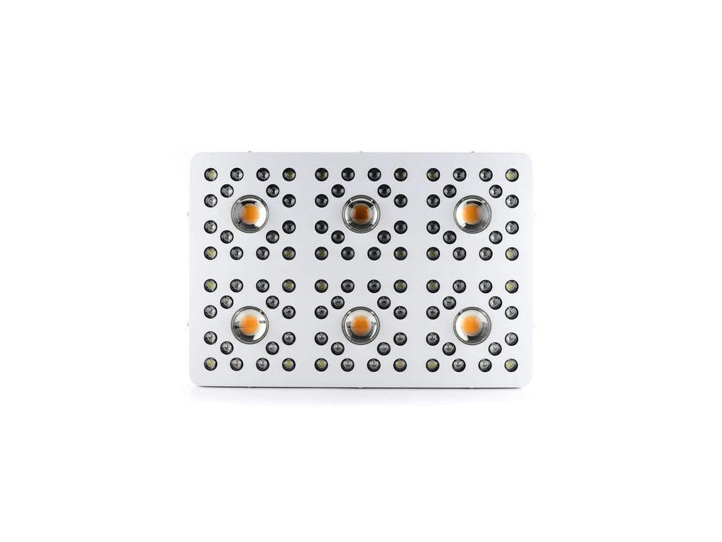 Optic 6 Cob Led Grow Light 620w Uv Ir 3000k Cobs