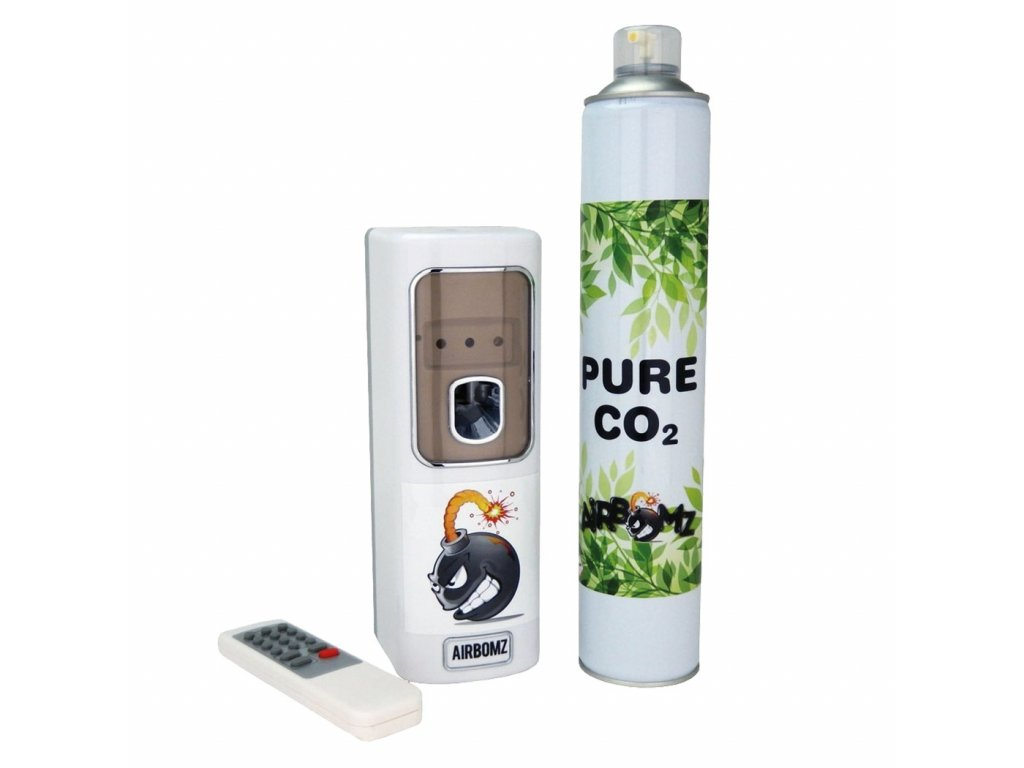 Airbomz CO2 Dispenser with Sensor + CO2 Pressure Bomb