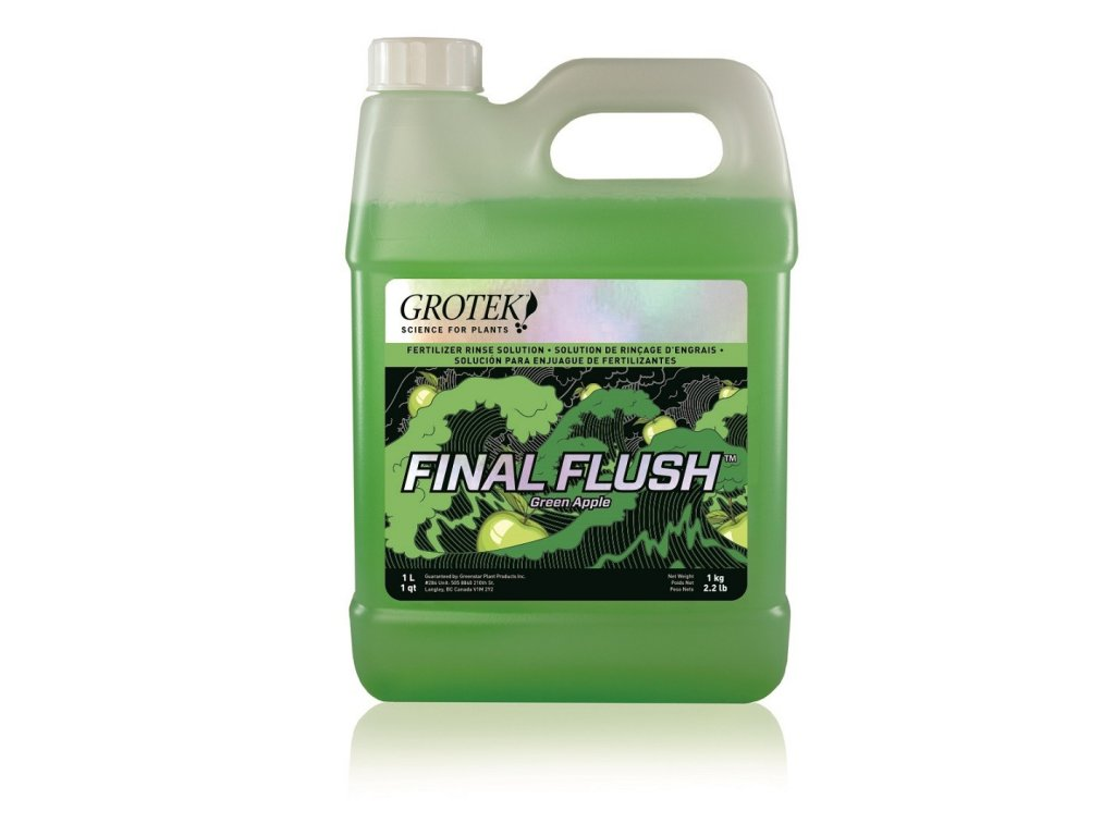 Grotek Final Flush Green Apple 1 l