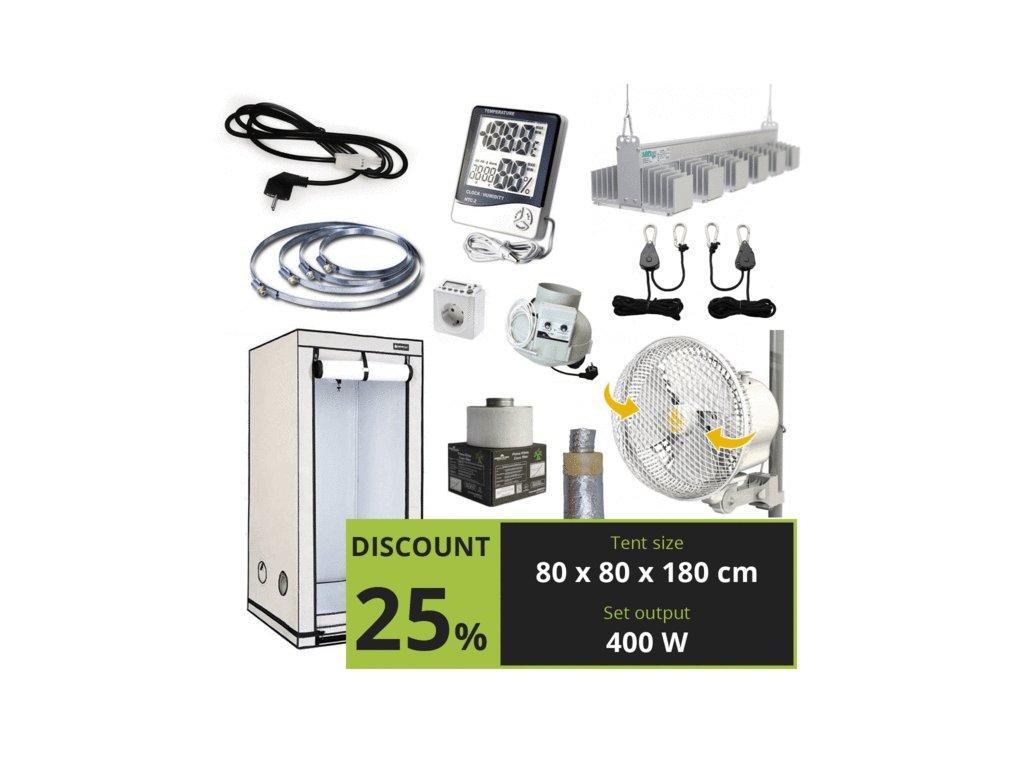 Cannafest LED 400w (80x80x180cm)