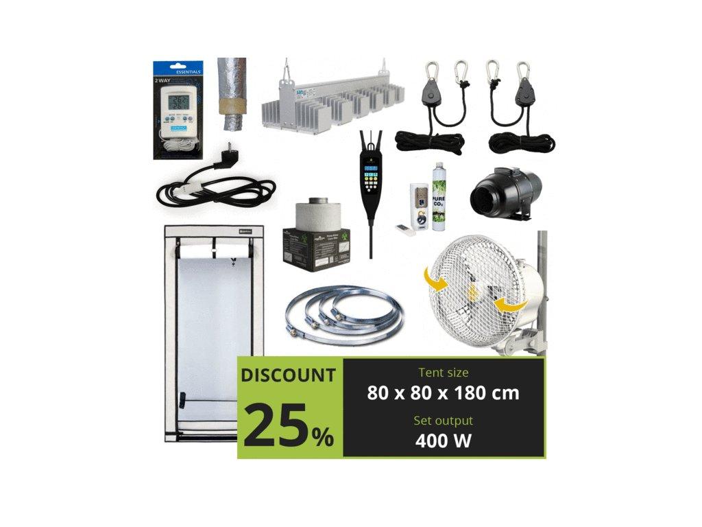 EXPERT LED 400w + CO2 (80x80x180cm)