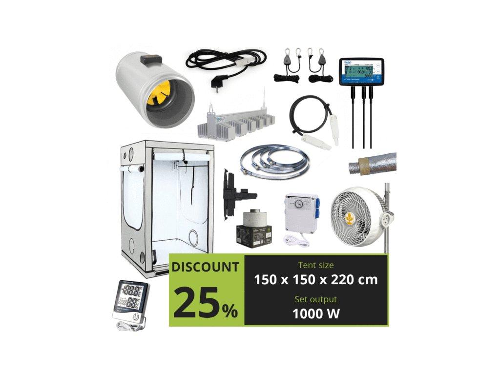 Cannafest LED 1000w (150x150x220 cm)