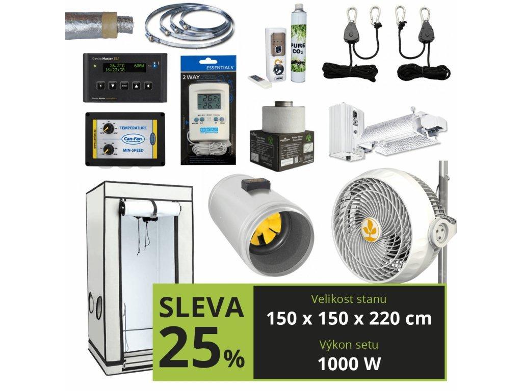 EXPERT Gavita 1000w + CO2 (150x150x220 cm)