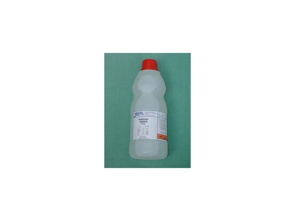 Hydrogen peroxide 30% for system cleaning 1L