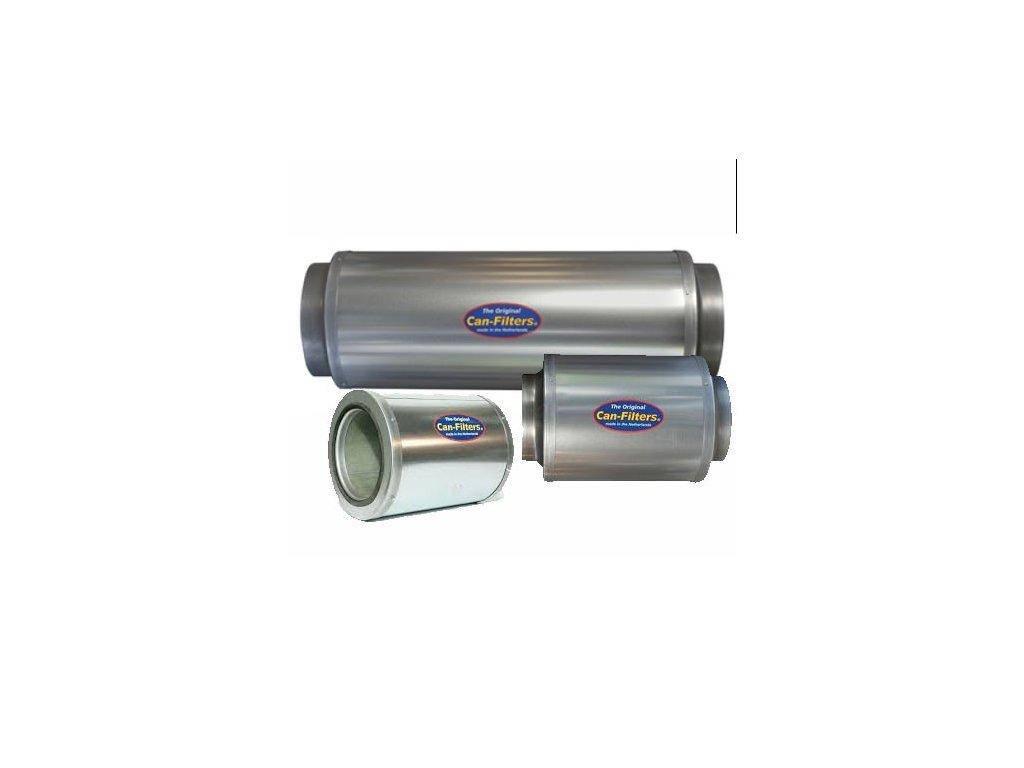 CAN Silencer 50cm / O38cm / flange 250mm