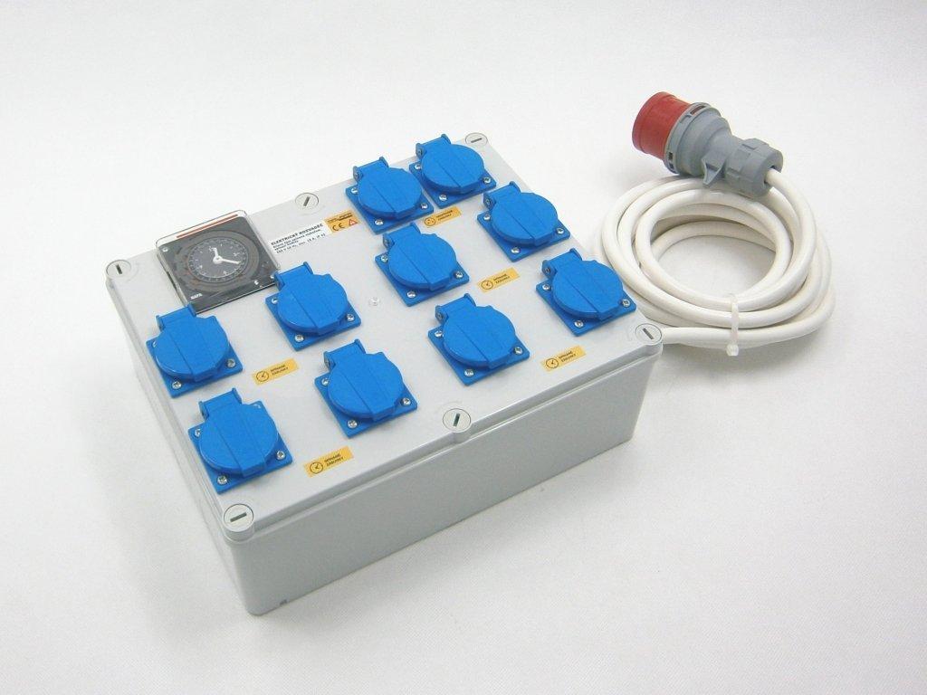 Malapa KL04 analog switchboard 8x 1200W (8+1+1), 400V 16A