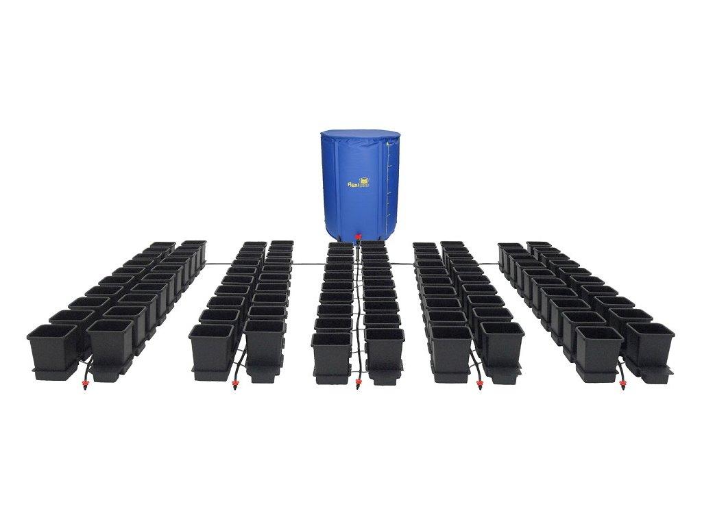 100Pot System with 750L FlexiTank
