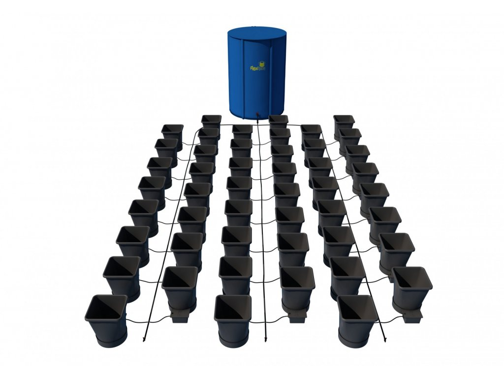 48Pot XL System with 400L FlexiTank