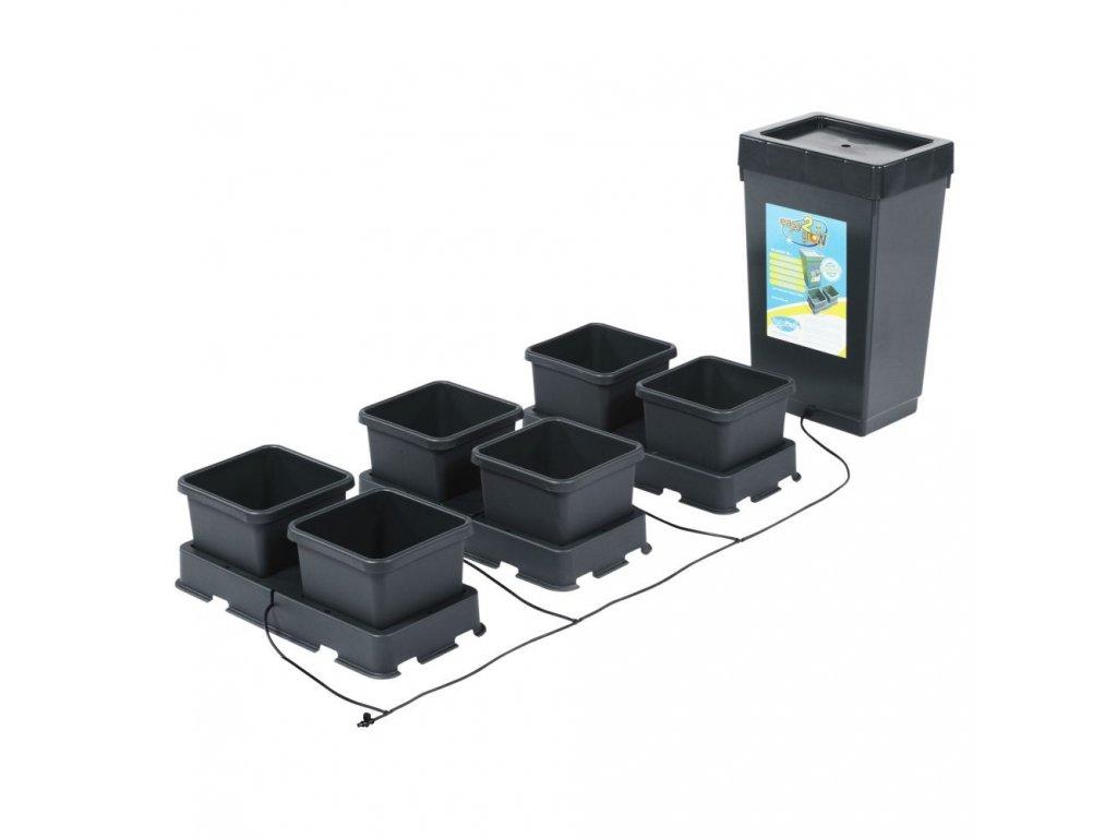 6Pot Easy2grow Kit with 47L Plastic Tank