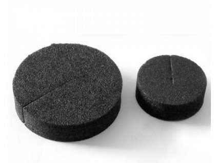 Autopot Neoprene black round foam collars diameter 50mm