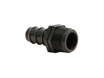 "Irritec PE hose connection 25 mm x ¾ "", male thread"
