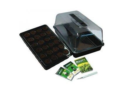 Planting set ROOT! T (greenhouse 38x24x18cm + planting sponges, spraying, book)