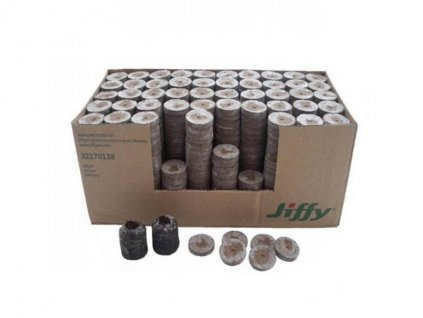 Planting tablet Jiffy 7 41mm, box 1000pcs