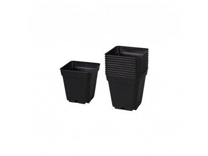 Plastic flowerpot 15x15x20 - 4l