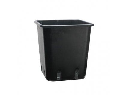 Plastic flower pot 25x25x26 - 11L (100pcs)